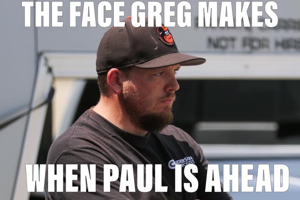 The Face Greg Makes when Paul is Ahead NMCA Autocross