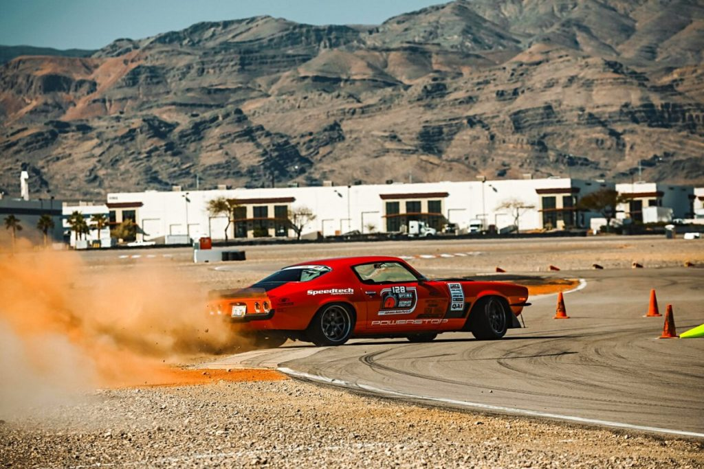 Nick-Relampagos-1970-Chevrolet-Camaro-DriveOPTIMA-Las-Vegas-2019-road-course-super-chevy
