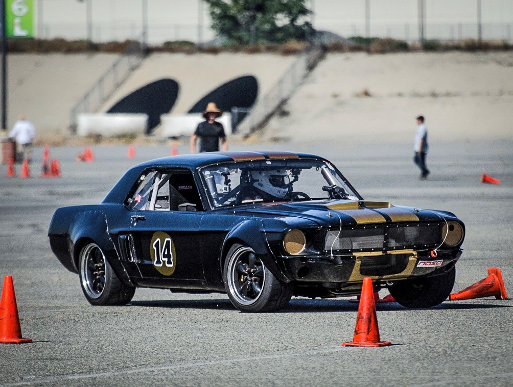 AutoXandTrack 67 Mustang Cal Club autocross as eye see things 1