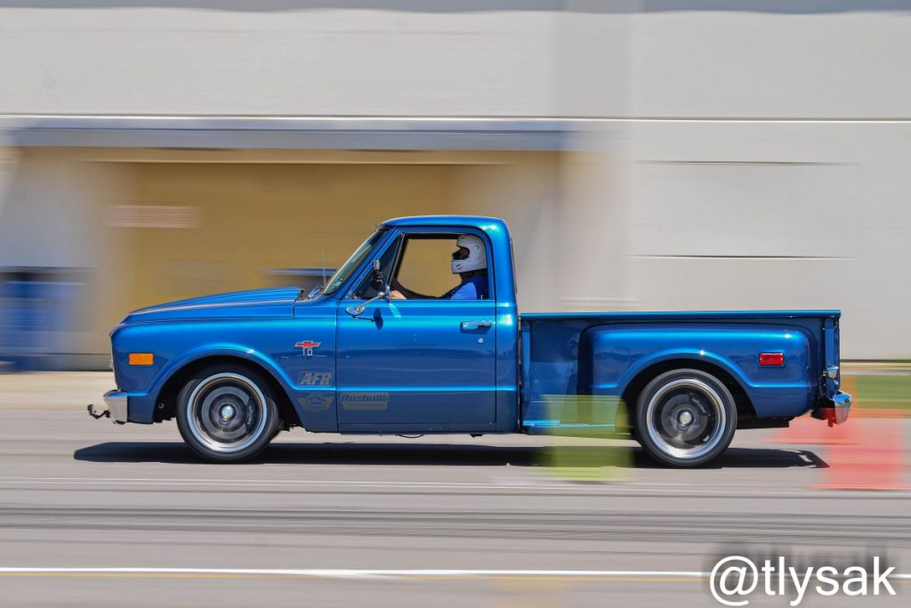 Matt Kenner autocross C10 Truck by Terry Lysak 2