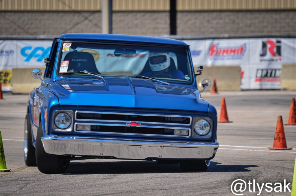 Matt Kenner autocross C10 Truck by Terry Lysak 5