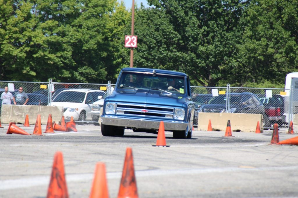 Matt Kenner autocross C10 photo by Jason Wilcox 2