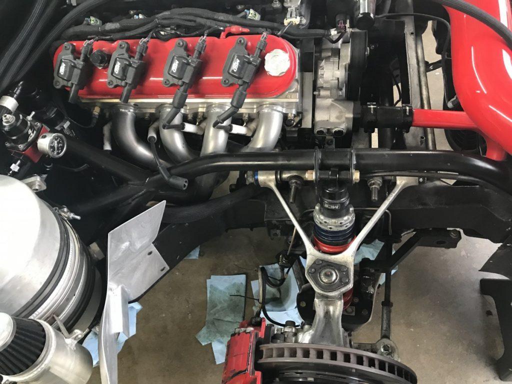 Autocross C4 Corvette Front suspension CB Ramey