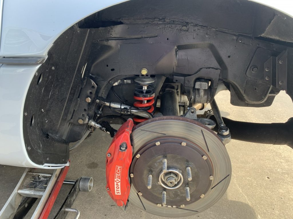 Autocross C4 Corvette Rear suspension CB Ramey