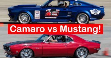 Pro Touring Camaro vs Pro Touring Mustang - Round 2