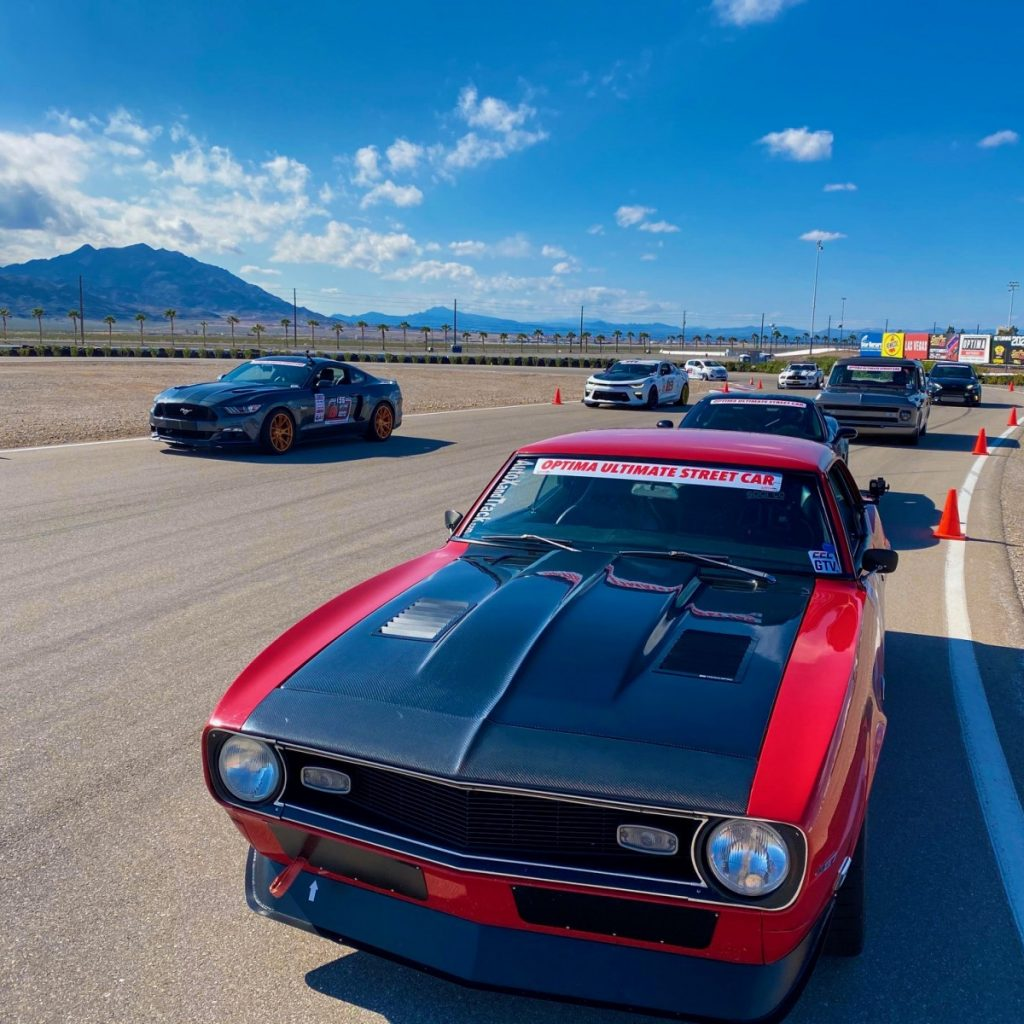 AutoXandTrack Pro Touring 1968 Camaro Optima USCA LVMS staged roadcourse