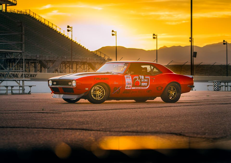 Chad Ryker pro touring Camaro USCA PPIR Sunset shot by Ryan King