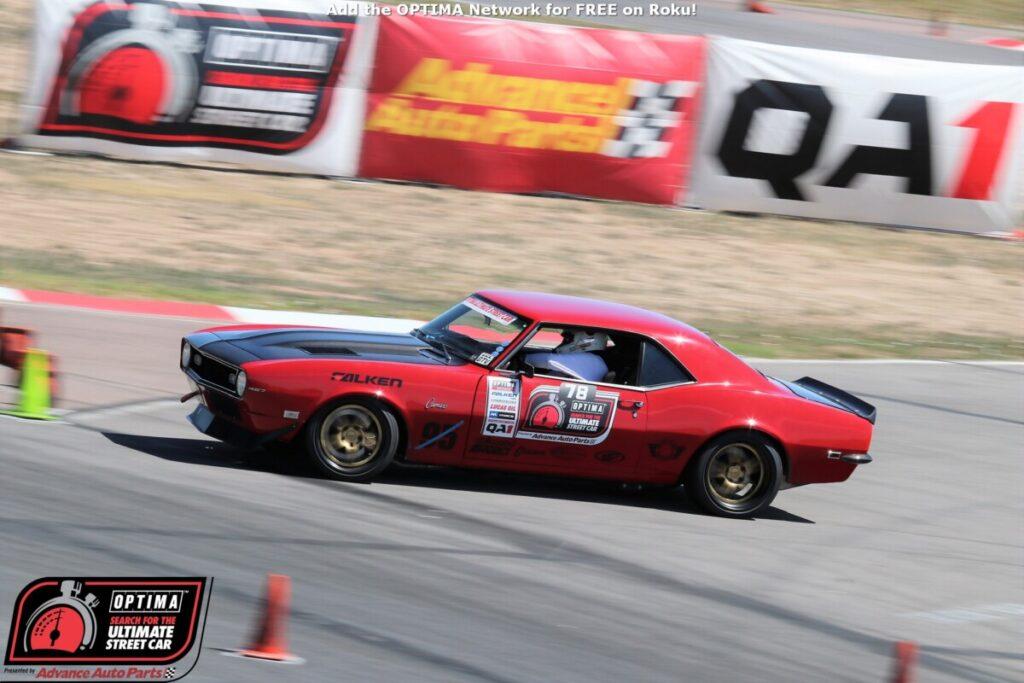 Chad Ryker pro touring Camaro USCA PPIR autocross 1