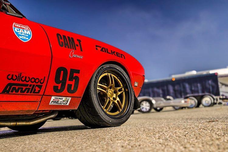 Falken Azenis RT660 pro touring camaro front - Rich Langi