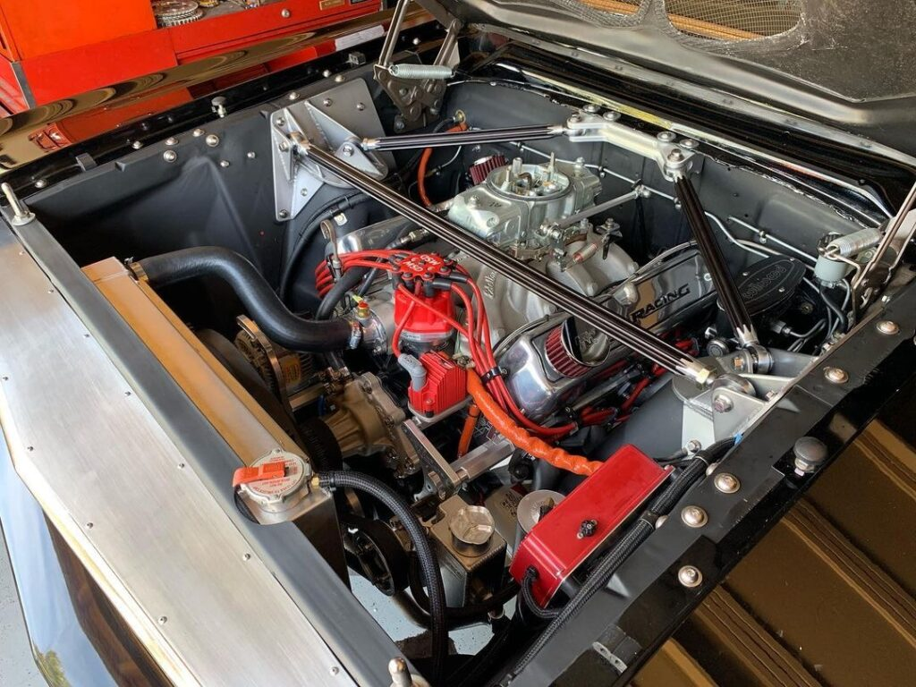 Pro Touring Ford Falcon Engine bay